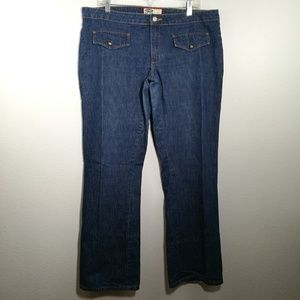 OLD NAVY Plus Size 16 Boot Cut Blue Jeans